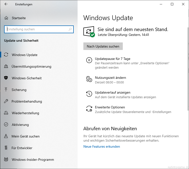 Windows Updates Windows 10
